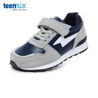 百丽天美意teenmix童鞋17新款儿童运动鞋男女童儿童鞋跑鞋时尚舒适休闲鞋 (9-15岁可选)DX0225