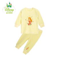 【2件3.5折到手价:55.3】迪士尼Disney 婴幼儿纯棉春秋季男女宝宝活动肩套装153T633