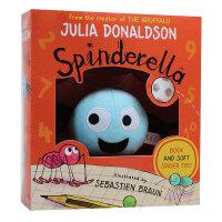 Spinderella Book & Plush Set天降神蛛 书+毛绒玩具套装 3-6岁