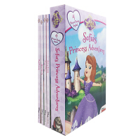 Sofia the First Sofia's Princess Adventures 苏菲亚公主4册纸板盒装【4-8岁】