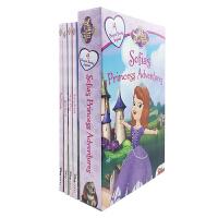 Sofia the First Sofia's Princess Adventures 苏菲亚公主4册纸板盒装【4-8岁