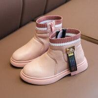 【活动价:126】儿童马丁鞋女童短靴2019年新款秋冬季真皮时尚宝宝公主靴子英伦风