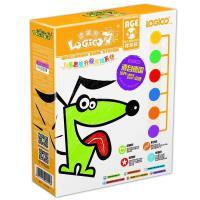逻辑狗3-4岁(幼儿园小班-带6钮板)第一阶段 儿童思维升级游戏系统 男孩女孩礼物益智早教学习机儿童玩具卡
