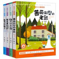 蔷薇别墅的老鼠 书本里蚂蚁 王一梅童话系列故事书全4册注音版王一梅获奖童话 住在楼上的猫少儿图书 一