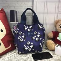 装饭盒的手提包帆布午餐带饭包便当包饭盒袋子韩版妈咪包小号女