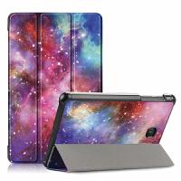 三星Galaxy Tab A 8.0 2018保护套保护套 三星tab a 8英寸电脑保护壳sm-t387硅胶软包边翻