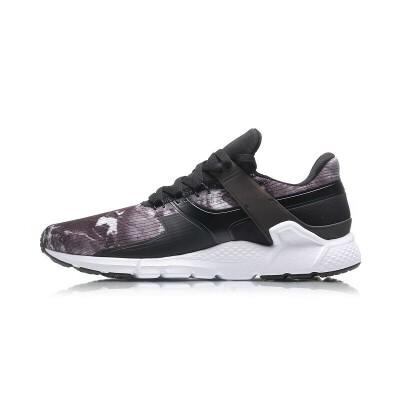 李宁男子运动时尚系列板鞋休闲鞋潮流舒适百搭运动鞋男款AGLM101