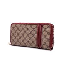 女士钱包长款拉链潮流大容量小清新时尚二折皮夹子手包