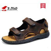 走索男鞋夏季男士凉鞋沙滩鞋透气休闲凉拖鞋男英伦大码男鞋子防滑ZSZS801