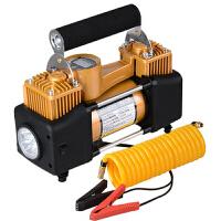 车载充气泵12V双缸电动车用便携式打气泵气筒