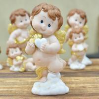丘比特天使欧式创意家居摆件客厅装饰品摆设娃娃树脂工艺品小礼品