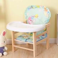 【限时7折】儿童餐椅实木宝宝餐椅子小板凳吃饭桌椅0-6岁婴儿木质座椅便携式