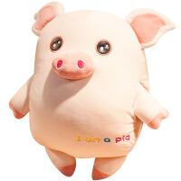 小猪暖手玩偶抱枕公仔布偶娃娃可爱超软女生睡觉抱午睡靠垫毛绒萌 50cm