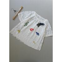 [151-206]女士打底衫女装两件套雪纺衫0.36