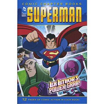英文原版 Lex Luthor's Power Grab! (Superman: Comic Chapter Books)