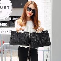 女士包包新款手提包女韩版个性时尚小包百搭冬季单肩斜挎包潮