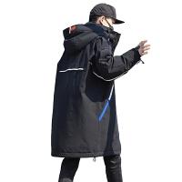 №【2019新款】冬天年轻人穿的2018新款男生羽绒服韩版中长款大码工装外套轻薄保暖羽绒衣