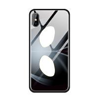 奥特曼手机壳苹果iphoneX 6s 7 8 plus 5se玻璃硅胶套眼睛意