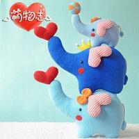 布娃娃玩偶布艺手工diy 制作材料包玩具创意手工自制