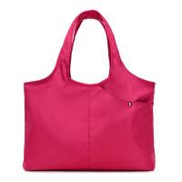 新款时尚单肩大包防水牛津女包大容量瑜伽包旅行背包健身包