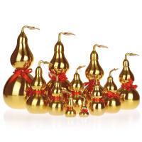 铜葫芦摆件 工艺品家居卧室玄关装饰品摆设