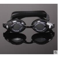 带度数游泳镜专业防水防雾带度数 男女款近视游泳镜近视游泳眼镜