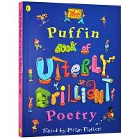 儿童英文经典诗歌 英文原版 The Puffin Book of Utterly Brilliant Poetry 英