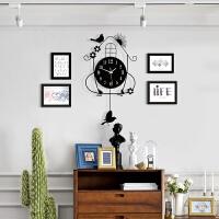 ins北欧现代客厅悬挂照片墙装饰相框墙相框创意挂墙组合个性相片