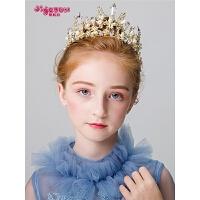 女孩发箍发饰儿童皇冠头饰公主女童王冠配饰发饰
