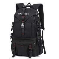 背包双肩包男大容量旅行包登山包韩版潮运动户外休闲时尚旅游书包