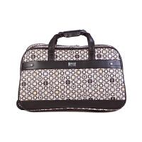 PU旅行包大容量拉杆包手提行李包可折叠防水手提旅行袋男女士通用