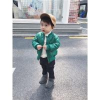 2018新款冬装儿童宝宝加厚外套男童棉衣夹克儿童帅气夹棉棒球服潮