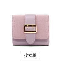 钱包女短款2017新款女士韩版潮学生个性ins折叠小皮钱夹