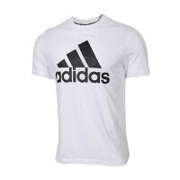Adidas阿迪�_斯 男�b �\�有蓍e透�馀懿蕉绦�T恤 DT9929