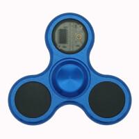 ?指尖陀螺仪金属发光儿童玩具手指上合金指间螺旋带灯?