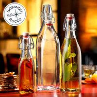 【Bormioli Rocco】swing多功能密封玻璃瓶 4种容量 1只装