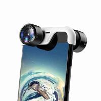 2018新款 手机全景镜头 拍照摄像头苹果iphone8外置摄影广角镜头抖音