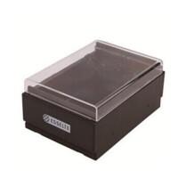 名片盒 可放600 名片整理盒 98600收纳盒 名片夹98400可放400张两款可选