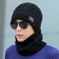 男士帽子冬季青年保暖针织毛线帽潮骑车棉帽套头