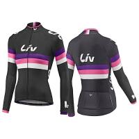 女式新款自行车上衣 速干透气骑行服动感单车服 支持图样定制