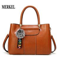 莫尔克MERKEL 包包女2020新款手提包中年妈妈时尚大包单肩包斜挎包百搭女包妈妈包