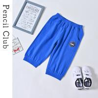 【3件2折价:27.8】铅笔俱乐部童装2019夏季男童中大童休闲短裤儿童裤子