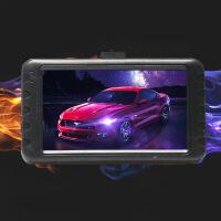 深圳行车记录仪双镜头3.0寸新款1080P锌合金高清行驶录像 黑色