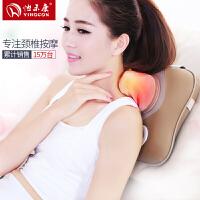 怡禾康按摩枕头电动颈椎按摩器颈部腰部肩部全身家用多功能按摩仪