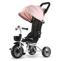 儿童折叠三轮车脚踏车1-3岁小孩单车婴儿手推车轻便童车男女