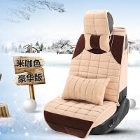 奥迪A6L冬季A4L全包A3Q5汽车Q3座套小车垫套卡通可爱女坐垫套