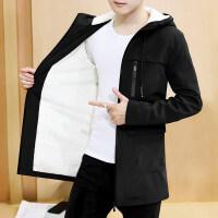 男士外套薄款春秋季秋冬修身韩版潮流帅气冬季风衣男夹克