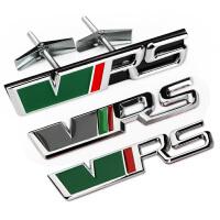 大众斯柯达车贴明锐晶锐个性改装RS车标车身贴中网标汽车装饰标