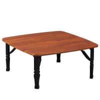正方形折�B桌小炕桌家用地桌�桌榻榻米桌床上折�B餐桌��桌小矮桌