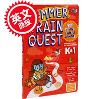 现货 大脑任务 暑期练习册 学龄前至一年级 英文原版 Summer Brain Quest: Between Grad